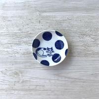 CAT×DOTS / Plate( SS) / Mino ware