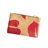 HEARTY<3 Leather Clutch -MINI-