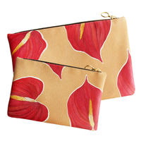 HEARTY<3 Leather Clutch -SET-