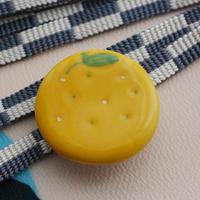 柚子(ゆず)の帯留