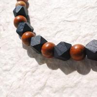 男性用羽織紐(7)紺×茶