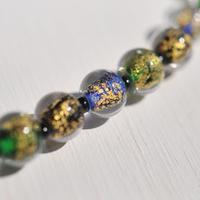 【男性羽織紐】金箔珠の羽織紐