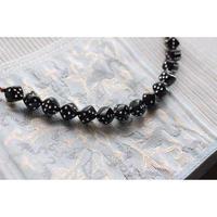 黒のサイコロ羽織紐