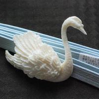 【訳アリ特価】白鳥の帯留