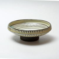 小鹿田焼 5寸切立浅鉢