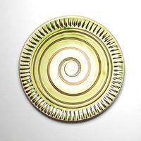 小鹿田焼*おんたやき/5寸リム皿
