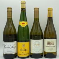家飲みワイン 4品種飲み比べ!白ワイン4本セット「B」