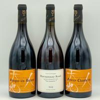 ◆【限定4セット】ルー・デュモン 希少なマルサネ ロゼ 2017年 を含む 3本セット