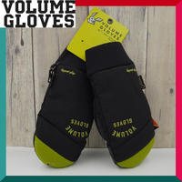 2018-2019 VOLUME GLOVES ボリューム グローブ KAMIKAZE GLOVE BLACK.TEA Lサイズ