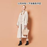 チェック巾着付きトートバッグ【WCJ-CO-047BE】