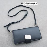 iPhoneケース付きポシェット【WCJ-CO-018BK】