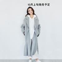 ダブルフェイスウールコート【WCJ-JF-003GY】