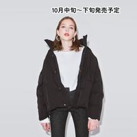 ビッグシルエット中綿ジャケット【WCJ-TC-022BK】