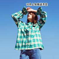 セーラー衿脱着ブラウス【WCJ-TC-014GN】