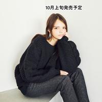 ニットカーディガン【WCJ-JF-001BK】