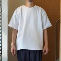 SMOKE T ONE*Fleece S/S Shirts*WHITE