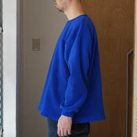 SMOKE T ONE*Fleece L/S Shirts*BLUE