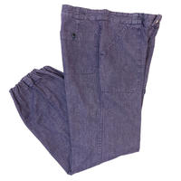 French Military*Vintage Denim Deck Pants