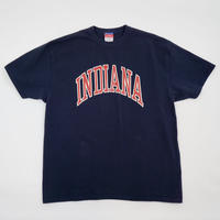 Used Champion*Re-Print T-shirt*INDIANA - NAVY
