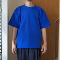 SMOKE T ONE*Fleece S/S Shirts*BLUE