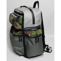 BackPack S【Gray x Charcoal Gray x Camouflage】