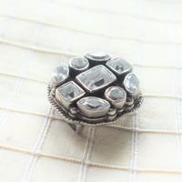 帯留「宝石箱/クリア」