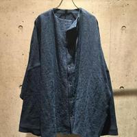 【予約】12 years shirt - hemp  indigo 直営店限定