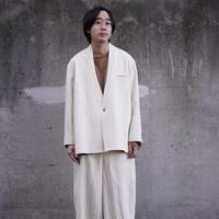 10 years jacket (hemp)【5月末納品 先行予約】