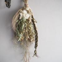 le  bouquet de  fleurs séchées  A