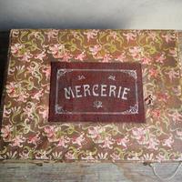 la boîte des fleurs  anciennne   メルスリーset