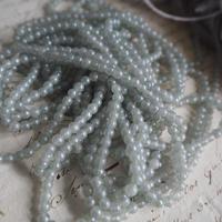 bluegray  ガラス beads  L