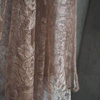 rose色の antique metal  lace