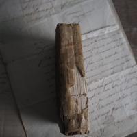 古書 1823年 羊皮紙cover
