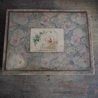 la boîte des fleurs  anciennne