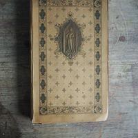 エンボスの美しい古書