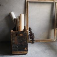 la boîte  anciennne   木箱