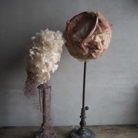 le chapeau des  fleurs