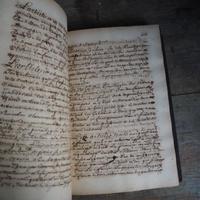 遠い記憶の手書き古書
