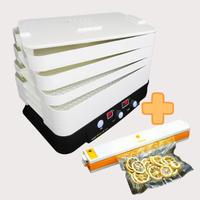 《お得なセット》家庭用食品乾燥機 プチマレンギ  + 家庭用真空パック器フードメイト