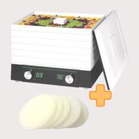 《お得なセット》家庭用食品乾燥機 プチマレンギDX +交換用フィルター 5枚セット TTM-440N(FS)