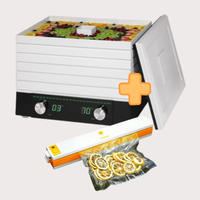 《お得なセット》家庭用食品乾燥機 プチマレンギDX +家庭用真空パック器フードメイト TTM-440NFMS