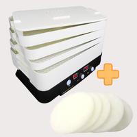 《お得なセット》家庭用食品乾燥機 プチマレンギ +交換用フィルター 5枚セット
