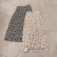 柔らかペイズリースカート
