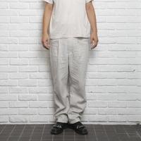 【 Aquvii warderobe 】Linen CONTROL WAISTED PANTS
