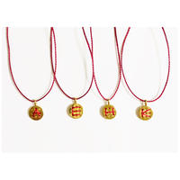 Botanga necklace (Red)