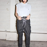 【TAG DOES NOT MAKE YOU】Bontage PANTS / Black denim②