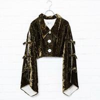 【Aquvii Wardrobe】VELVET CORCH JACKET / KHAKI