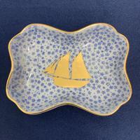 【 amabro 】MAME 小紋糸巻形皿