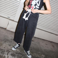【TAG DOES NOT MAKE YOU】  Rope PANTS / Black ②