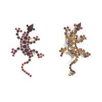 Lilien / Lizard small brooch